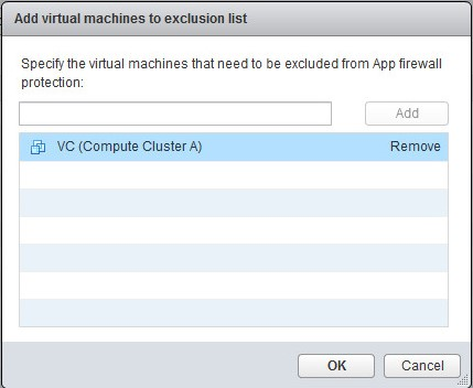 Exclusion VM list 5